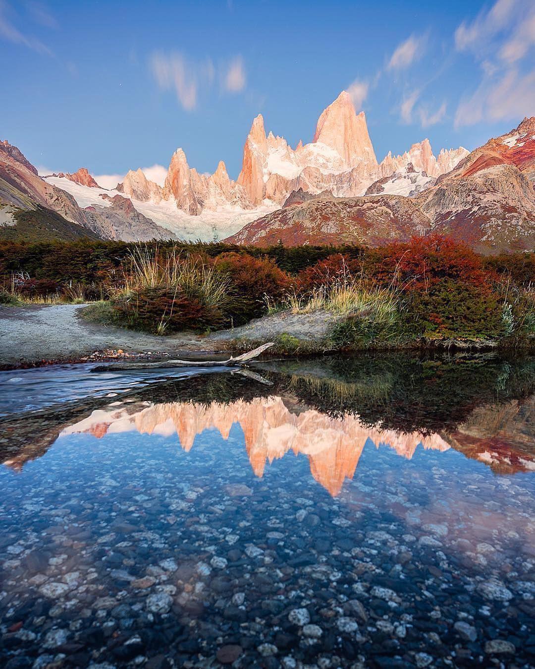 El Chalten Argentina cielos