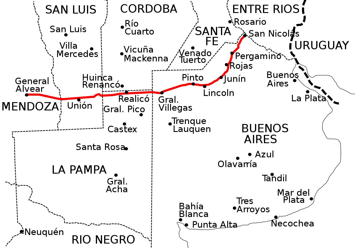 La Punta San Luis Mapas