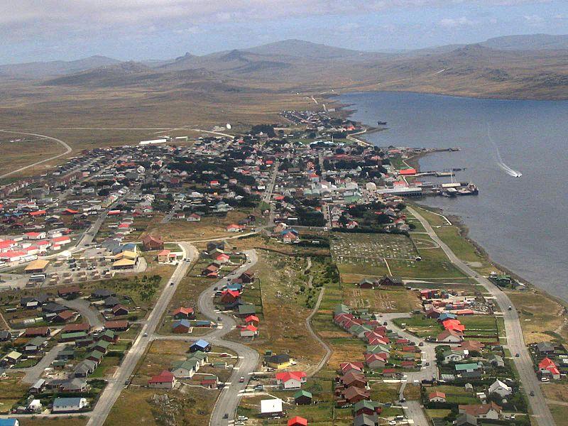 Puerto Argentino Stanley Islas Malvinas 1
